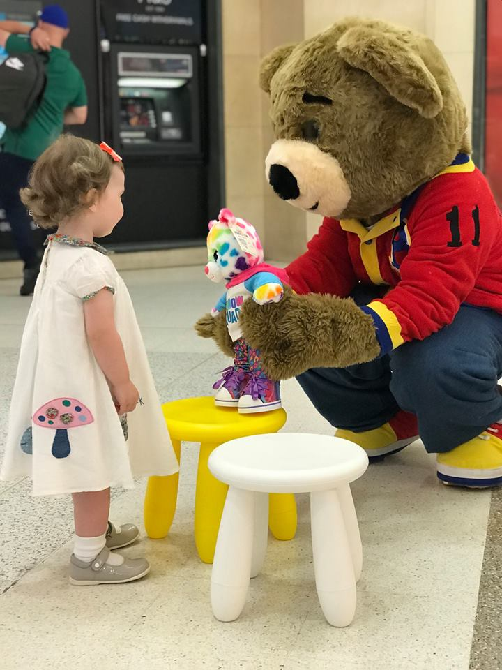 Teddy Bear Picnic In Aid Of Chas Clyde Shopping Centre
